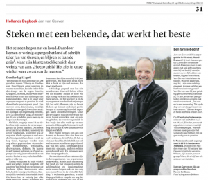 Van Gerven Asperges in NRC Weekend